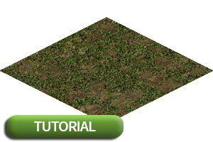 Isometrische Bodentiles mit Photoshop
