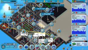 Tycoone, hier Mad Games Tycoon, können Features freischalten und unterstützen den Spieler mit nützlichen Assistenten.