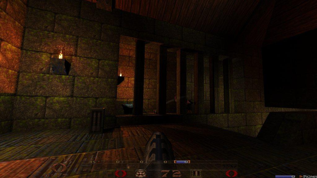 Quake mit dem Ultimate Patch wirkt deutlich moderner und verbessert.