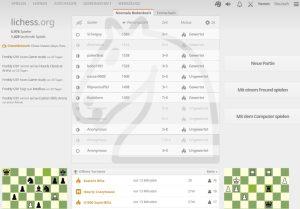 lichess.org bietet nahezu alles, was das Schachherz begehrt.