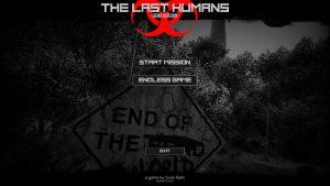 The Last Humans Menü